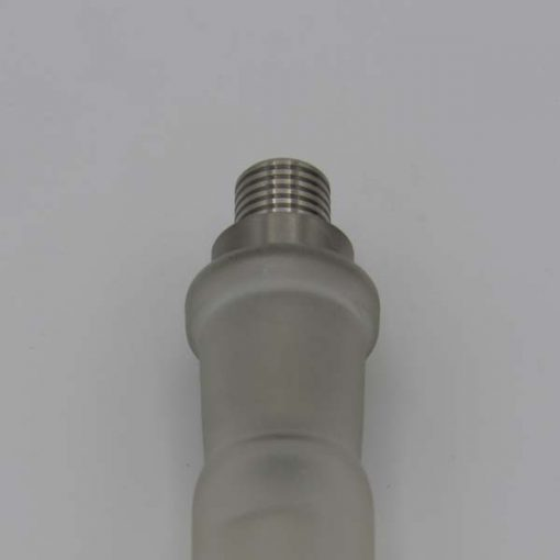 Titanium Mouthpiece/14mm Water-pipe Adapter with Glass