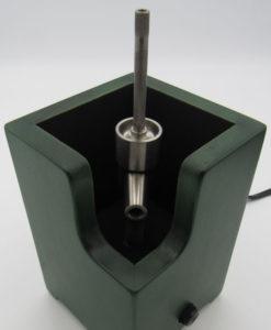Green Ditanium Vaporizer Enail with Carb-Cap/Aromatherapy Bowl