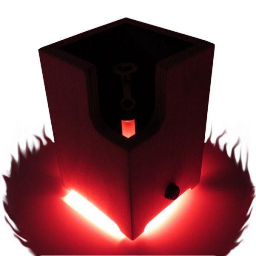 Ditanium Vaporizer Enail with Red LED